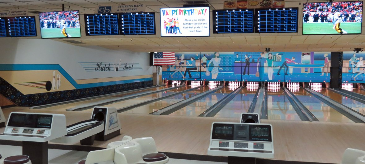 bowling alley hutchinson, mn